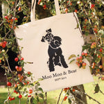 MOO MOO & BEAR TOTE BAG
