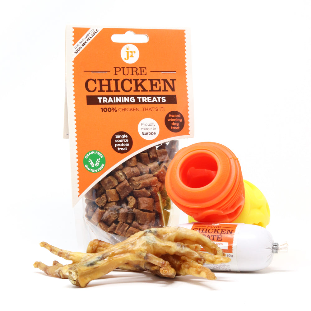 CHICKEN LOVERS ENRICHMENT BUNDLE NO. 3 - SAVE 15% ON ALL TREATS