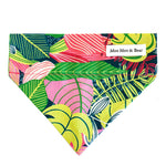 'TROPICS' DOG BANDANA IN PINK