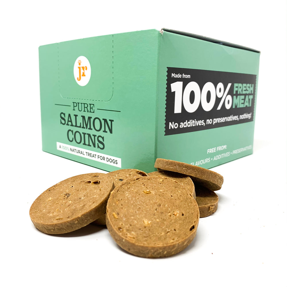 100% pure salmon natural dog treats