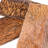 Long lasting natural dog chew | Hairy Venison Skin