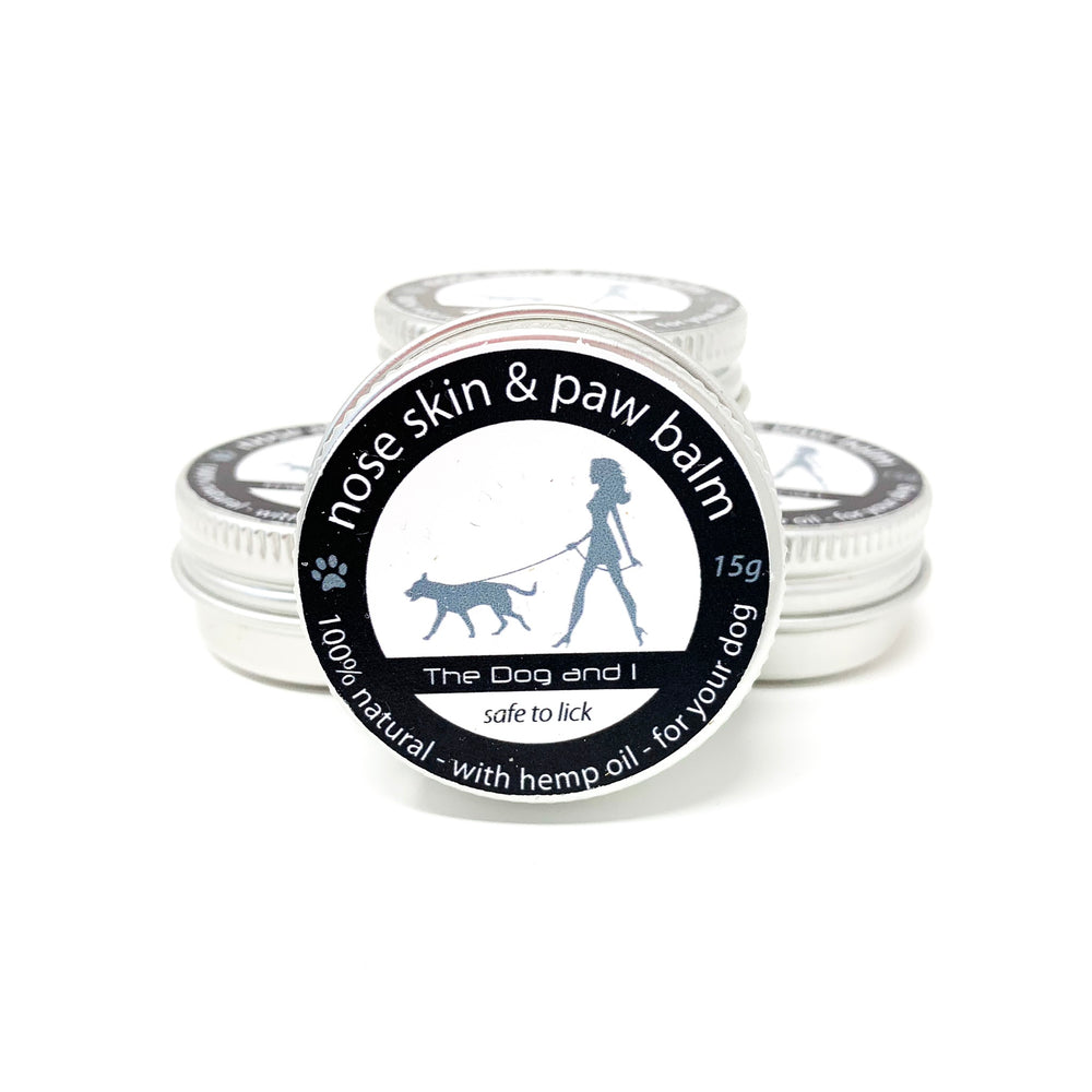 THE DOG AND I NATURAL DOG SKIN BALM, NOSE PAWS AND ELBOWS TOO