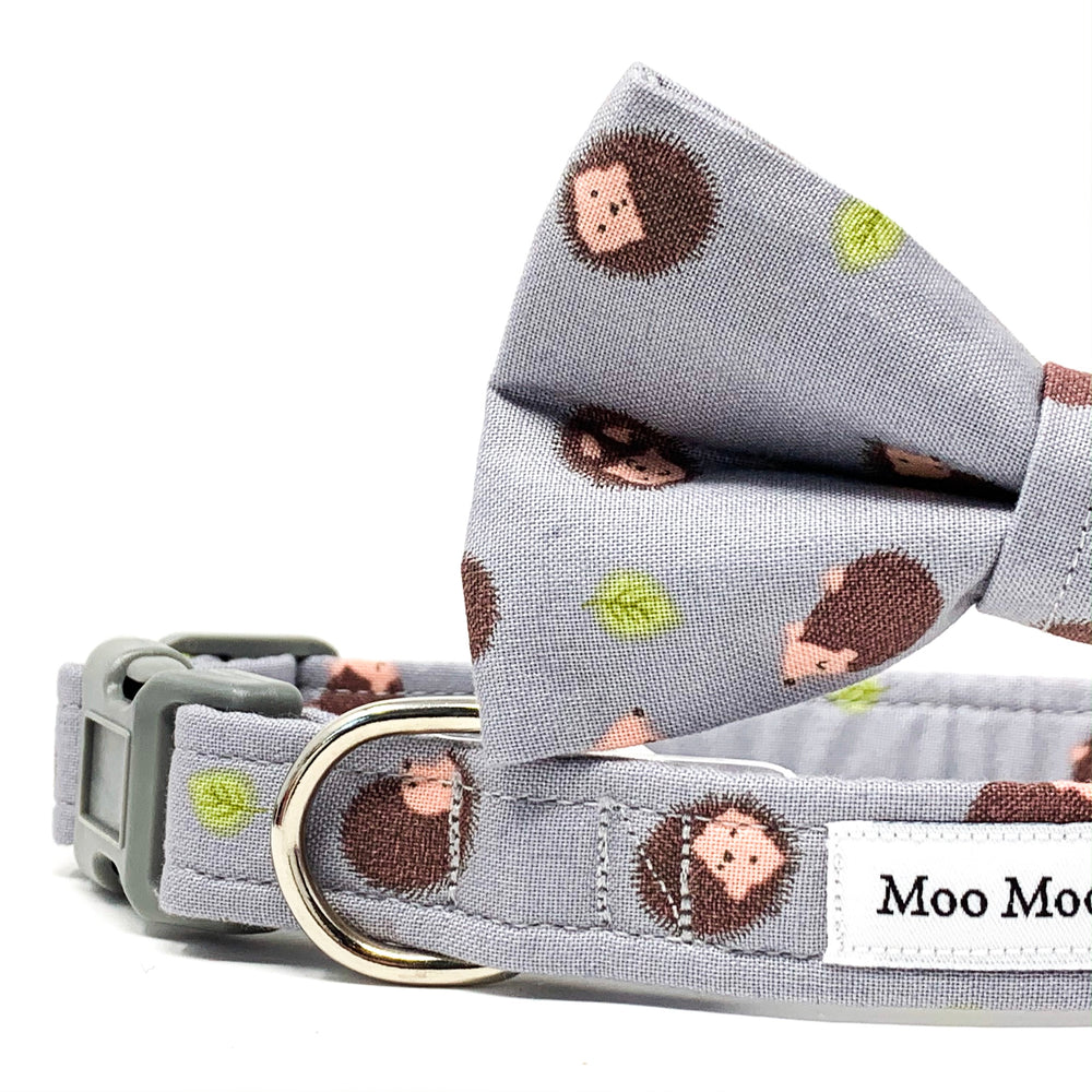'HEDGEHOG' DOG BOW TIE