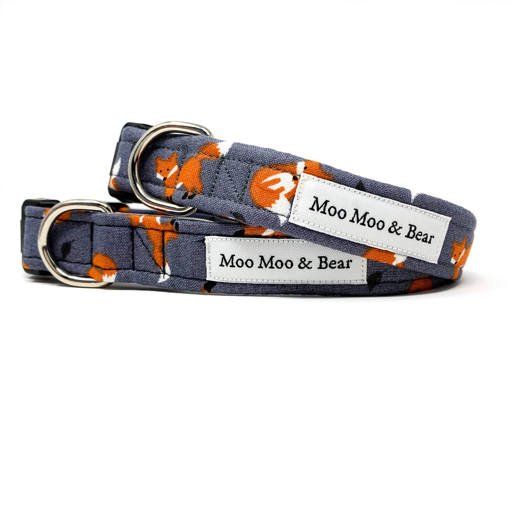 'FOXES' DOG COLLAR