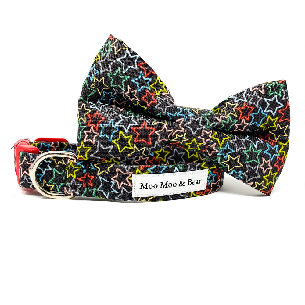 'SUPERSTAR' DOG BOW TIE