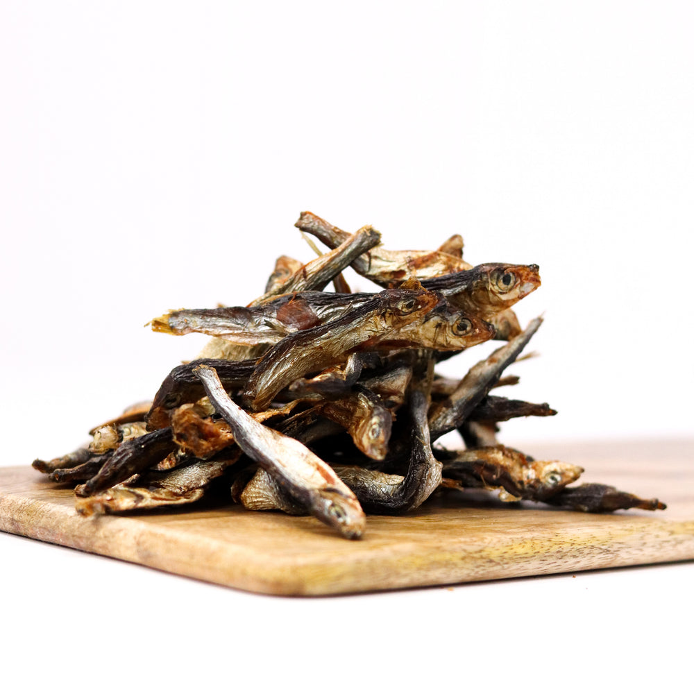 dried natural sprats delicious natural dog treat