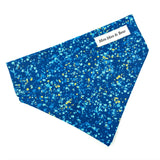 'POP' DOG BANDANA IN BLUE