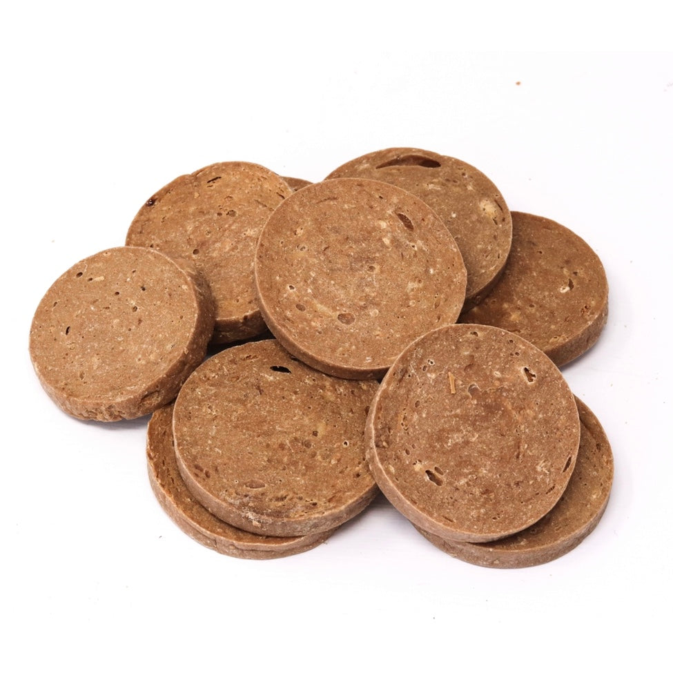 salmon coins natural dog treats
