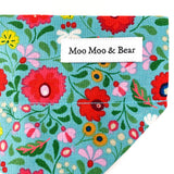 'BOHO' DOG BANDANA IN BLUE