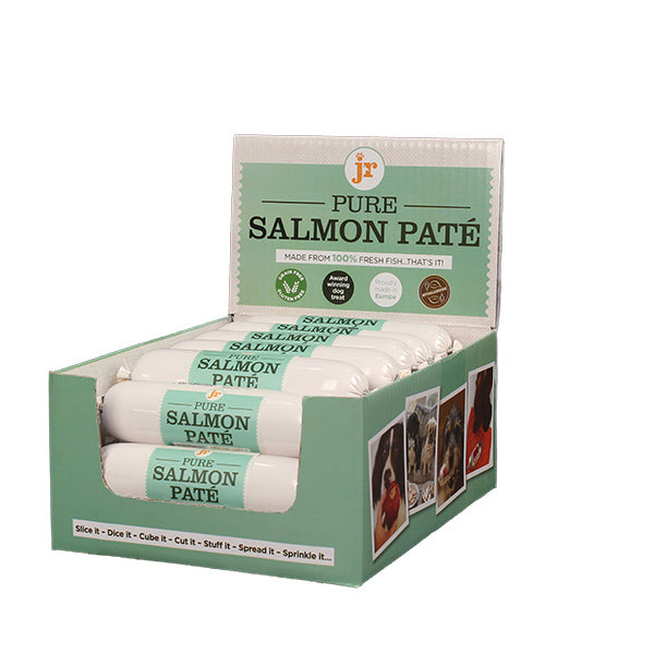 JR Pet Products salmon pate for dogs | Moo Moo & Bear