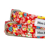 'SUMMER MEADOW' DOG COLLAR AND OPTIONAL LEAD