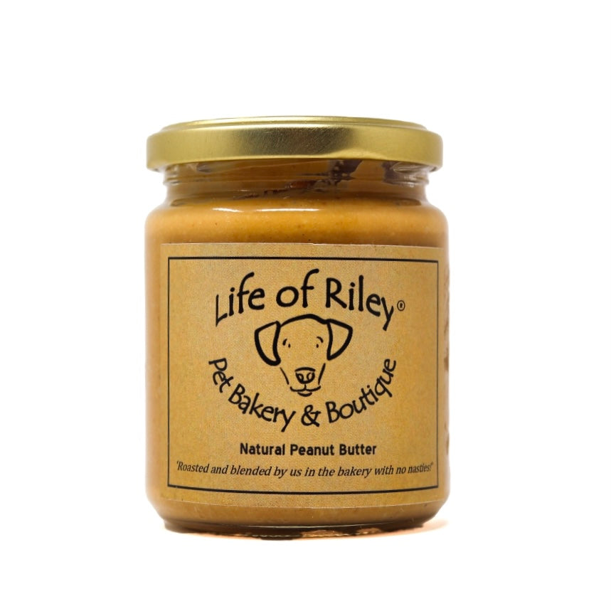 LIFE OF RILEY NATURAL PEANUT BUTTER FOR DOGS