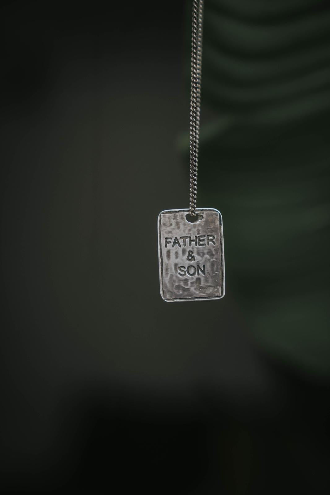 Collier « Father & Son «