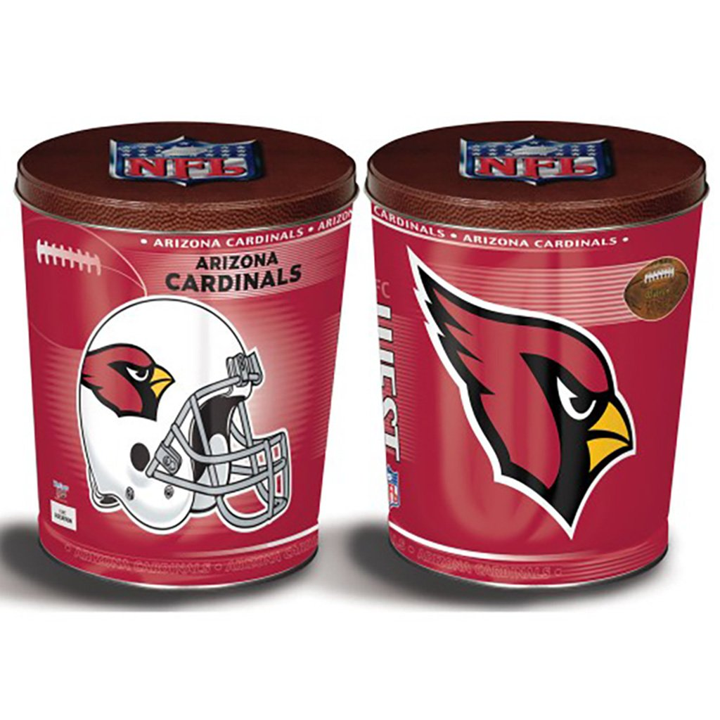 Arizona Cardinals Tin Joe Brown's Carmel Corn