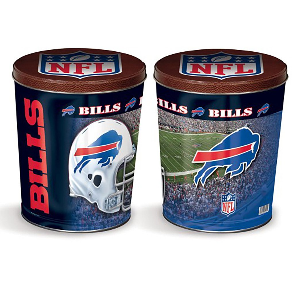 Buffalo Bills Tin Joe Brown's Carmel Corn