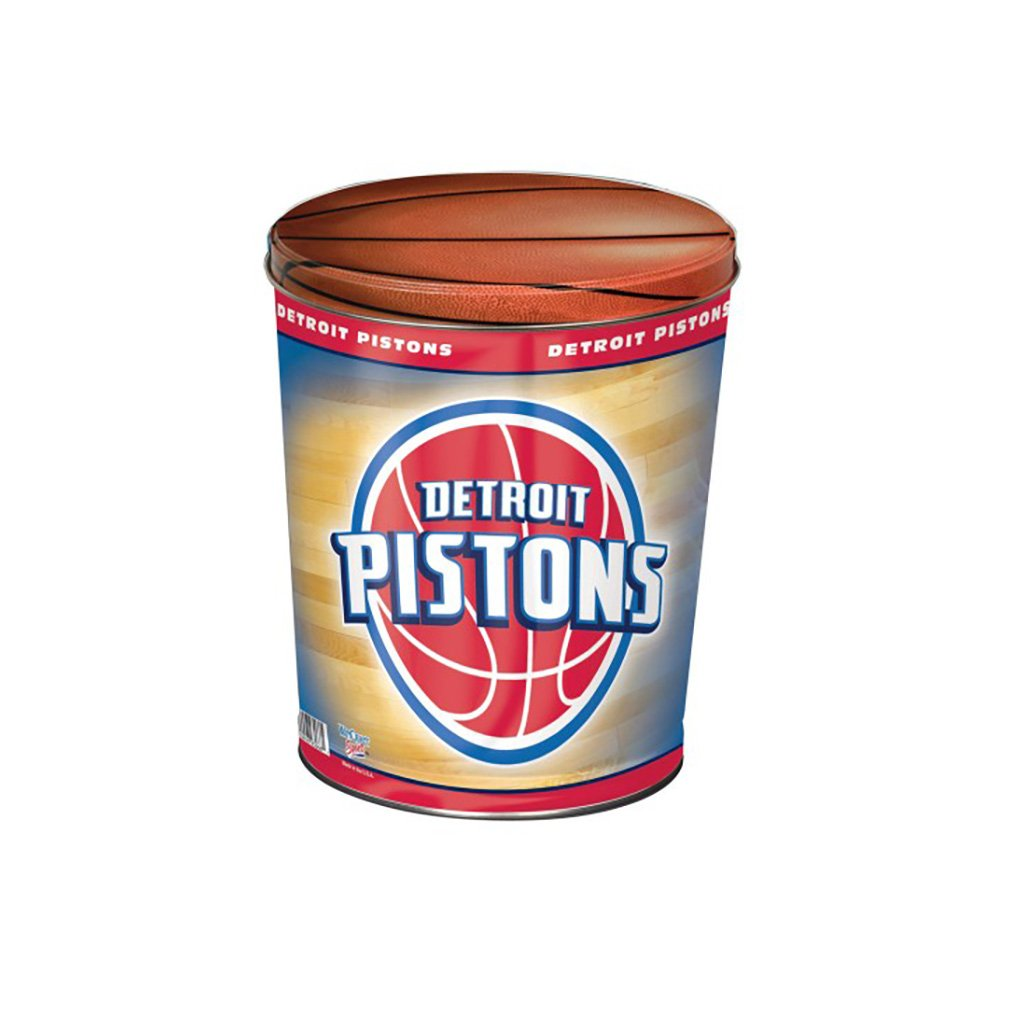 Detroit Pistons Tin Joe Brown's Carmel Corn