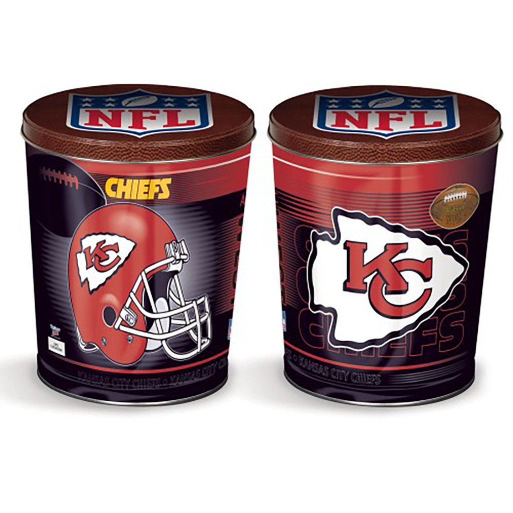Kansas City Chiefs Tin Joe Brown's Carmel Corn
