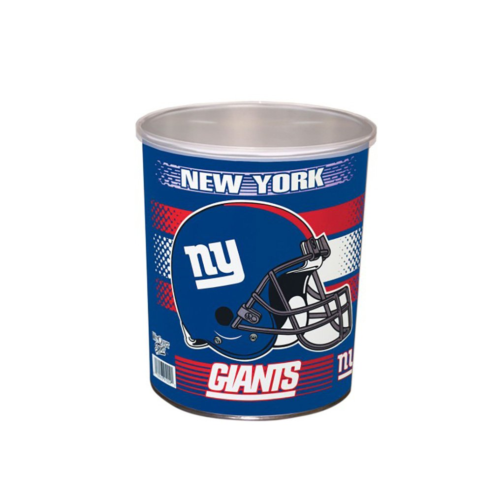 New York Giants Tin Joe Brown's Carmel Corn