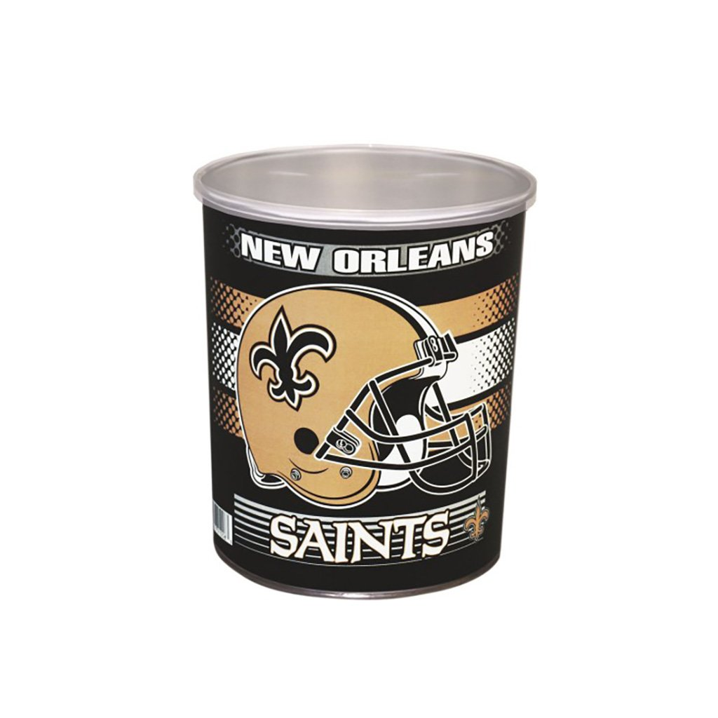 New Orleans Saints Tin Joe Brown's Carmel Corn