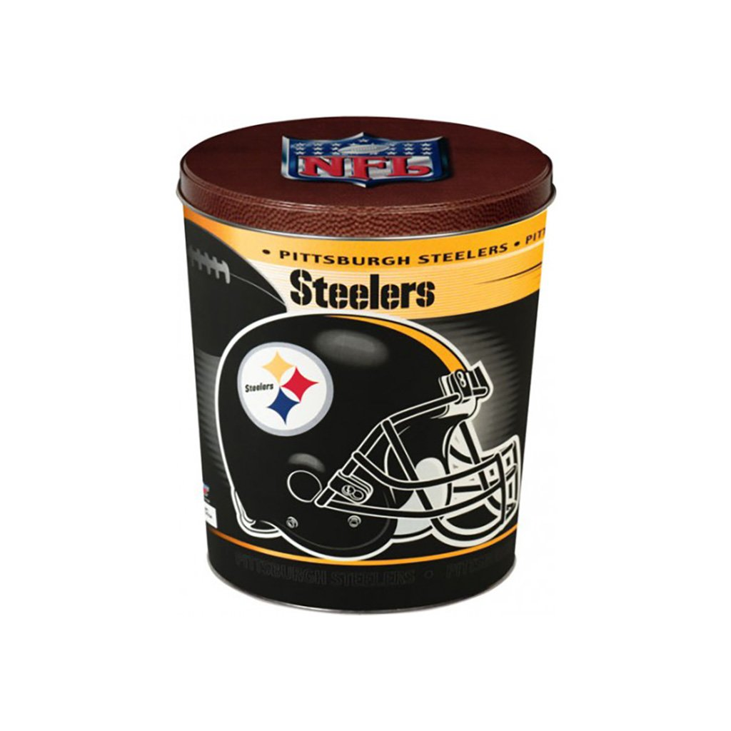 Pittsburgh Steelers Tin Joe Brown's Carmel Corn