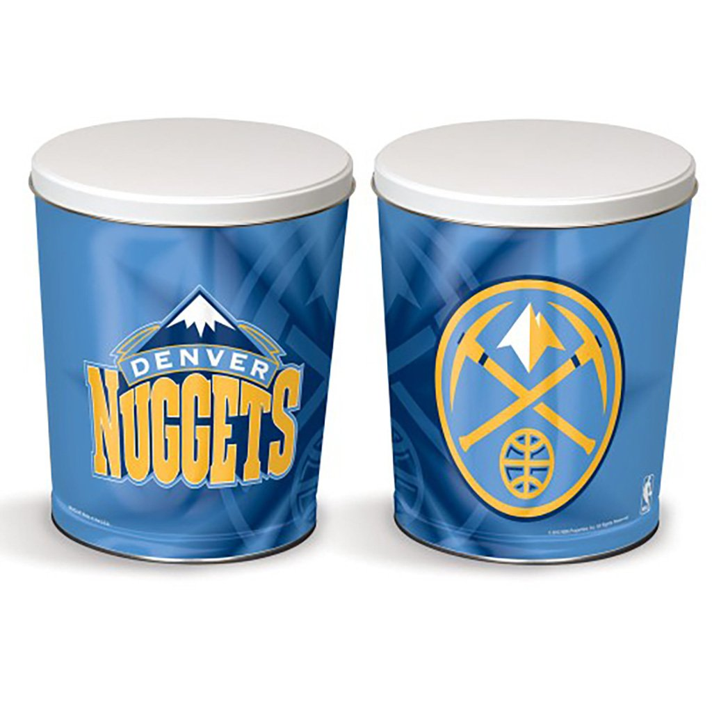 Denver Nuggets Tin Joe Brown's Carmel Corn