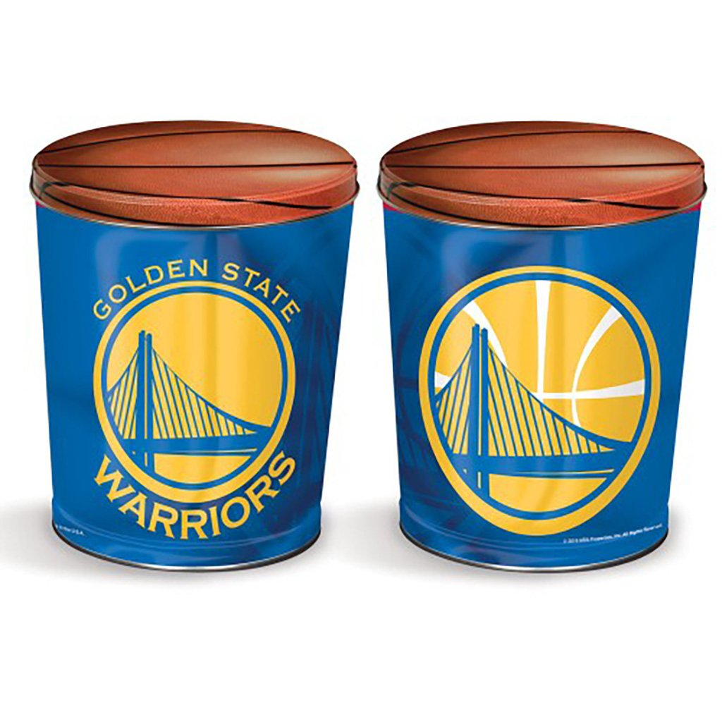 Golden State Warriors Tin Joe Brown's Carmel Corn