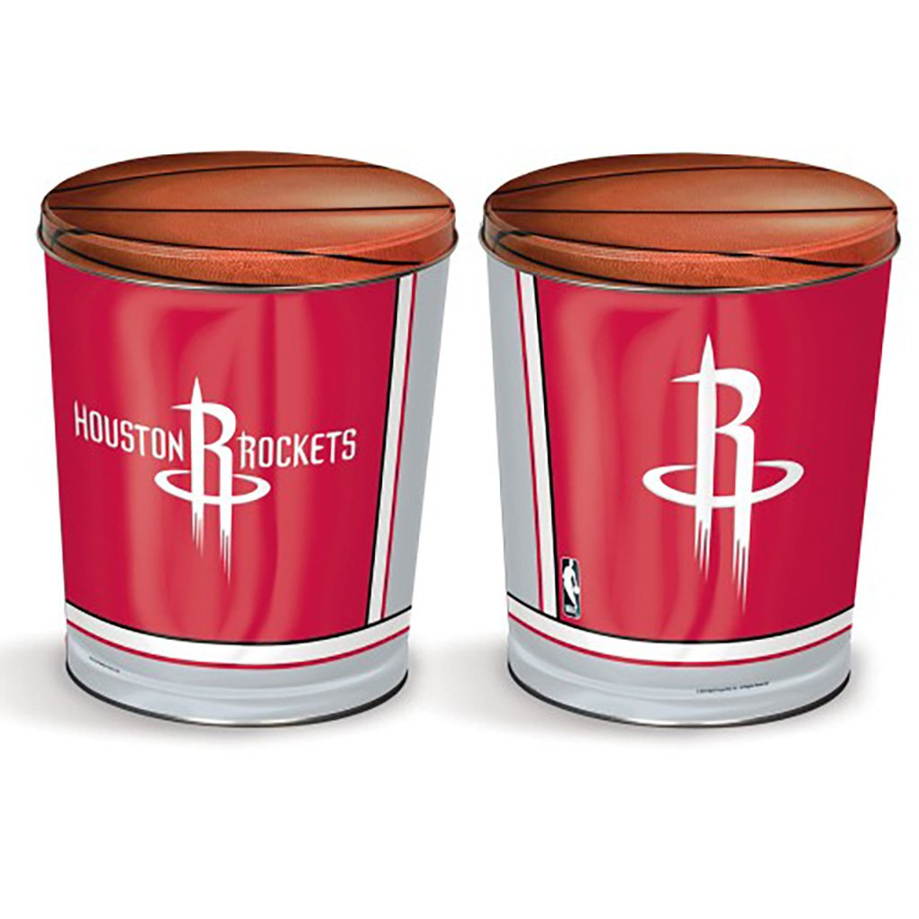 Houston Rockets Tin Joe Brown's Carmel Corn