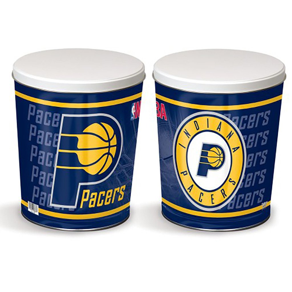 Indiana Pacers Tin Joe Brown's Carmel Corn