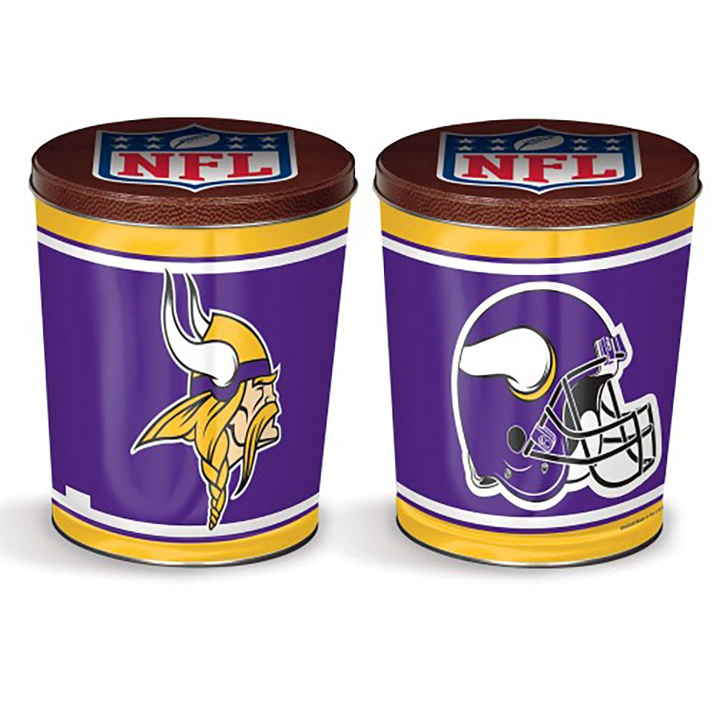 Minnesota Vikings Tin Joe Brown's Carmel Corn