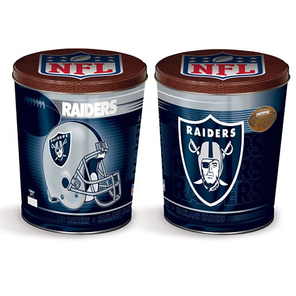 Oakland Raiders Tin Joe Brown's Carmel Corn