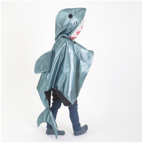 Shark Cape Dress up Costume