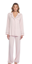 Load image into Gallery viewer, Barefoot Dreams Luxe Milk Jersey Pajama Set Soft Pink