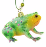 Fanciful Frog Ornament