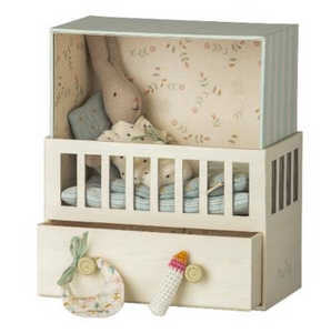 Maileg Baby Room with Baby Rabbit