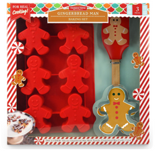 Load image into Gallery viewer, Gingerbread Man Baking Set