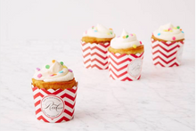 Load image into Gallery viewer, Red Velvet Celebration Cupcakes