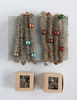 Tinsel Garland with Beads