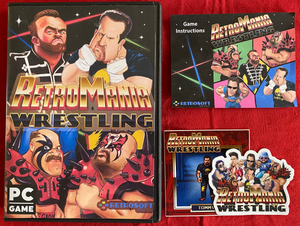Pre-Order RetroMania Wrestling - PC - Steam Digital Download - PLUS