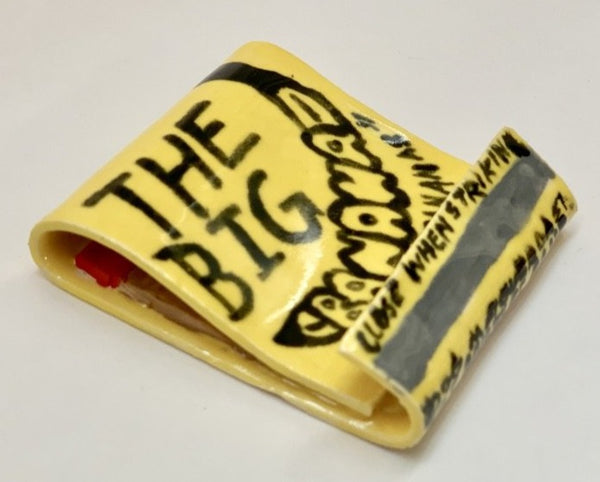 Seth Bogart: The Big Banana Ceramic Matchbook