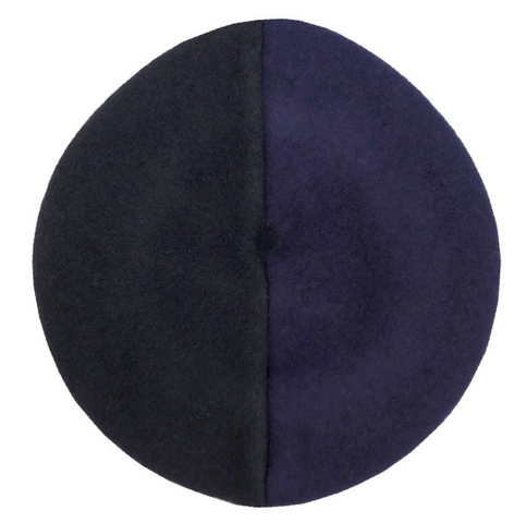 Beret Freak: Two-Tone Beret