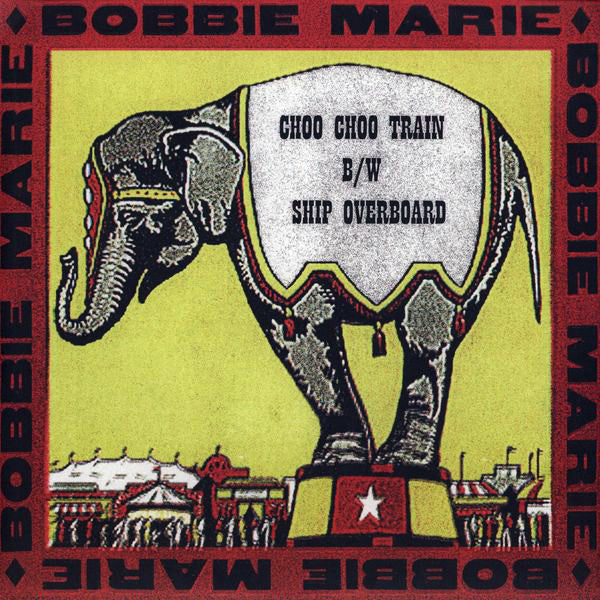 Bobbie Marie: Choo Choo Train Ship Overboard 12""