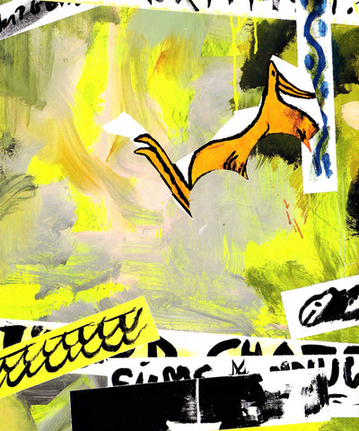 Charline von Heyl: Interventionist Demonstration (Why-A-Duck?)