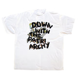 DOWN WITH THE PATRIARCHY Shirt Made by Lesbian Hands