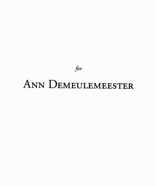 Kima: For Ann Demeulemeester
