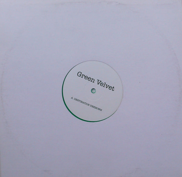 Green Velvet: Destination Unknown 12""