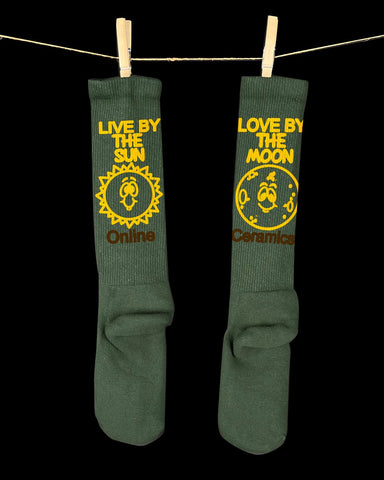 Online Ceramics: Live by the Sun, Love by the Moon Socks