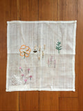 Run Home: Floral Napkin