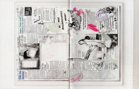 Laura Owens: Untitled Zine (Bill)