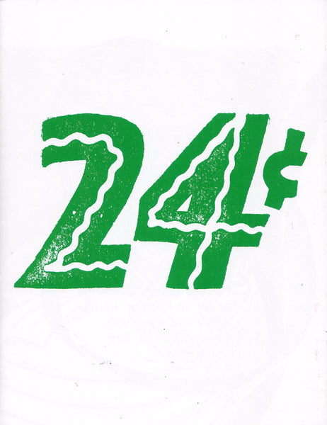 Laura Owens: Untitled Zine (24¢)
