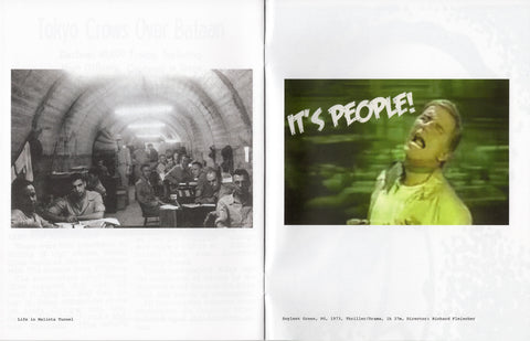 Laura Owens: Untitled Zine (FDR Calls It Survival War)